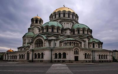 Photograph - Aleksander Nevski Cathedral by Jaroslaw Blaminsky