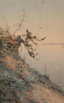 Ceramics Painting - Aleksey Alexandrovich Pisemsky, Early Evening Light by Celestial Images