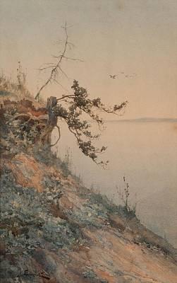 Aleksey Alexandrovich Pisemsky, Early Evening Light Art Print by Celestial Images
