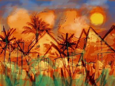 Paul Klee Drawing - Aleph  by Paul Sutcliffe