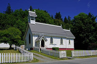 Photograph - Alert Bay Church by Inge Riis McDonald