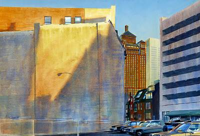 Chicago Painting - Alerton Building by Rick Clubb