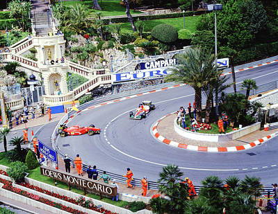 Photograph - Alesi Spins At Loews Hairpin by John Bowers