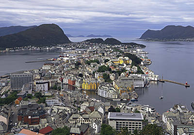 Photograph - Alesund From Above by Tony Murtagh