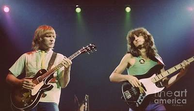 Alex Lifeson Photograph - Alex And Geddy by Kevin Bohner
