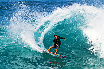 Waves Photograph - Alex Gray Carving by Paul Topp