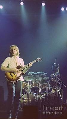 Photograph - Alex Lifeson 1 by Kevin Bohner