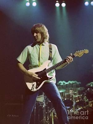 Alex Lifeson 2 Art Print