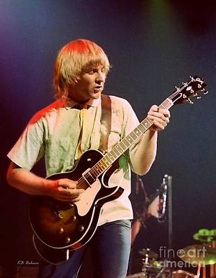 Photograph - Alex Lifeson 3 by Kevin Bohner