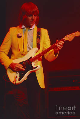 Alex Lifeson Photograph - Alex - Oakland Coliseum 1981 by Daniel Larsen