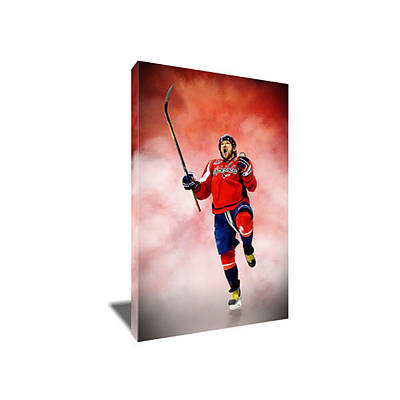 Alexander Ovechkin Painting - Alex Ovechkin II Canvas Art by Artwrench Dotcom