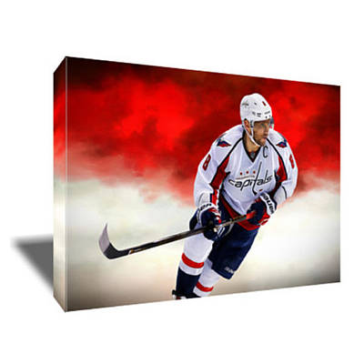 Alex Ovechkin Painting - Alex Ovechkin IIi Canvas Art by Artwrench Dotcom