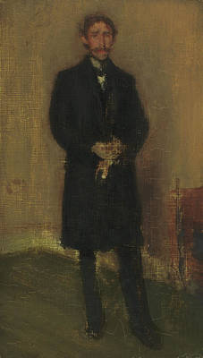 Whistler Painting - Alexander Arnold Hannay by James Abbott McNeill Whistler