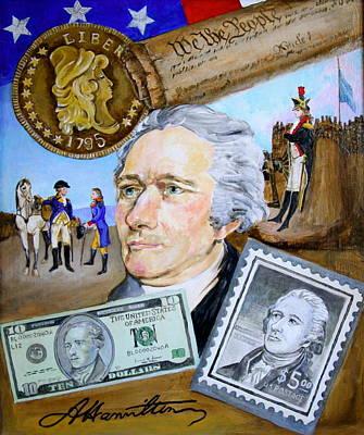 Alexander Hamilton Original by Jan Mecklenburg