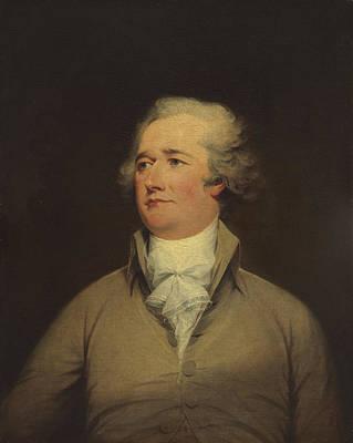 Staff Painting - Alexander Hamilton by John Trumbull