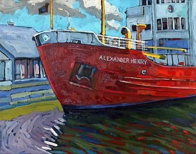Alexander Henry Original by Phil Chadwick