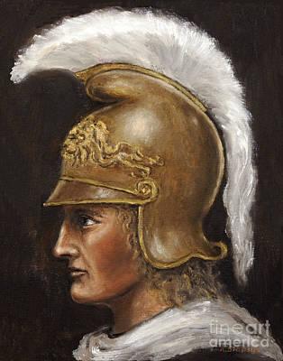 Alexander The Great Art Print by Arturas Slapsys
