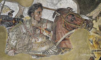 Faun Painting - Alexander The Great by Celestial Images