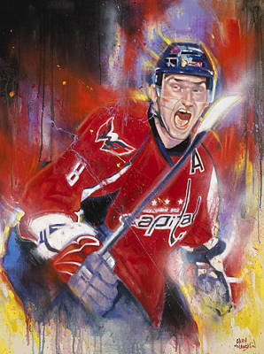 Nhl Painting - Alexander The Great by Gary McLaughlin