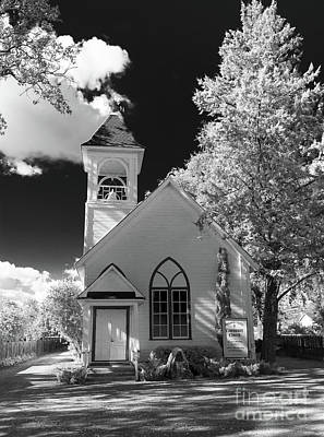 Photograph - Alexander Valley Church by Blake Webster
