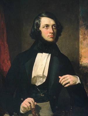 Painting - Alexander Van Rensselaer by George Peter Alexander Healy