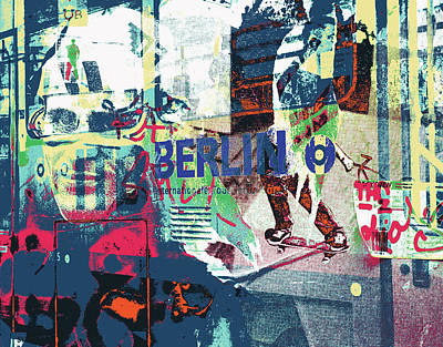 Mixed Media - Alexanderplatz by Shay Culligan
