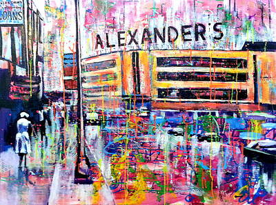Ny Yankees Painting - Alexanders by Jennifer Charton