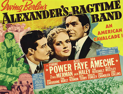 Mixed Media - Alexander's Ragtime Band 1938 by 20th Century Fox