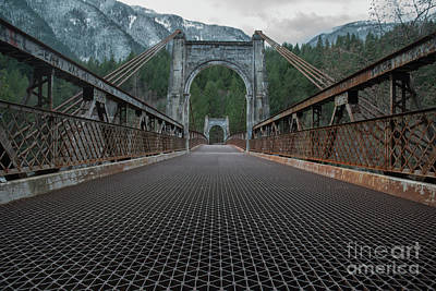 Photograph - Alexandra Bridge Low View by Rod Wiens