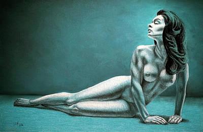 Pastel - Alexandra by Joseph Ogle