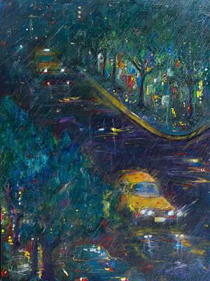 Painting - Alexandria by Leela Payne