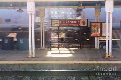 Photograph - Alexandria Union Station No1 by John S