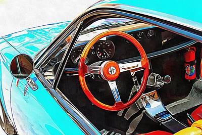 Photograph - Alfa Romeo 1600z Through The Window by Dorothy Berry-Lound