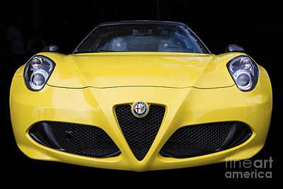 Photograph - Alfa Romeo 4c by Dennis Hedberg