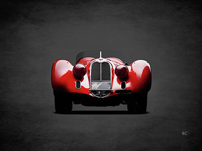 Alfa Romeo Photograph - Alfa Romeo 8c by Mark Rogan