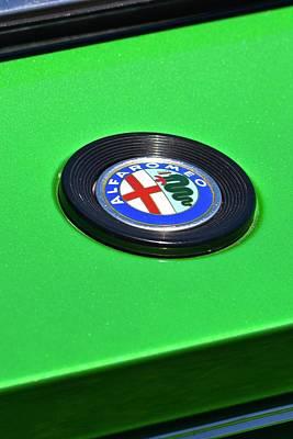 Photograph - Alfa Romeo Detail by Dean Ferreira