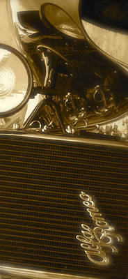 Photograph - Alfa Romeo Front Grille Detail Phone Case by John Colley