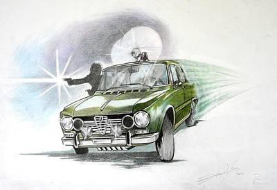 Alfa Romeo Giulia Polizia  Original by Federico  De muro