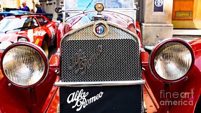 Photograph - Alfa Romeo Gran Turismo by Colin Rayner