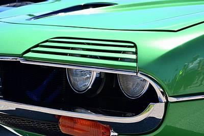 Photograph - Alfa Romeo Montreal Detail by Dean Ferreira