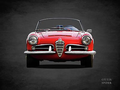 Alfa Romeo Photograph - Alfa Romeo Spider by Mark Rogan