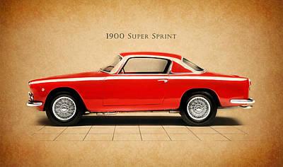 Alfa Romeo Photograph - Alfa Romeo Super Sprint by Mark Rogan