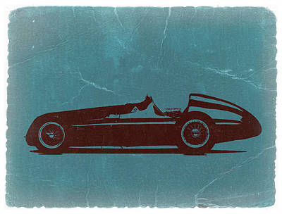 Racing Car Digital Art - Alfa Romeo Tipo 159 Gp by Naxart Studio