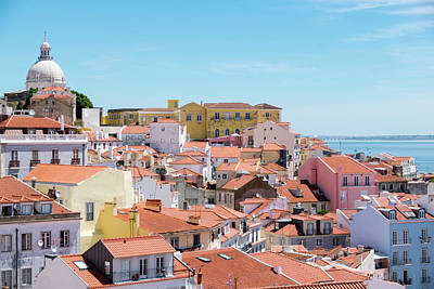 Rooftop Photograph - Alfama by Steven Richman