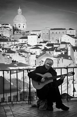 Photograph - Alfama Troubadour by Carlos Caetano