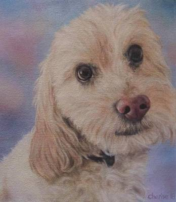 Painting - Alfie by Cherise Foster