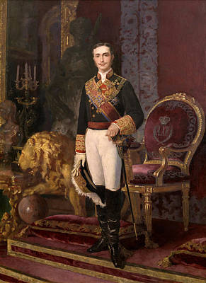 Alejandro Painting - Alfonso Xii King Of Spain by Alejandro Ferrant y Fischermans