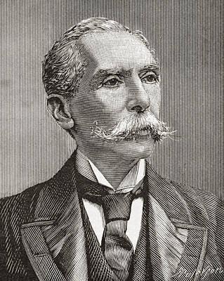 Alfred Austin, 1835 Art Print