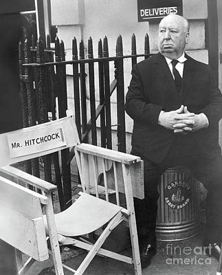 Photograph - Alfred Hitchcock by Granger