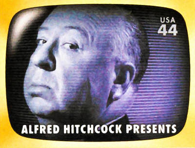 1950s Portraits Painting - Alfred Hitchcock Presents by Lanjee Chee